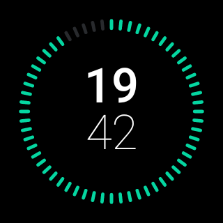 Nova Watch Face by Hyperflow