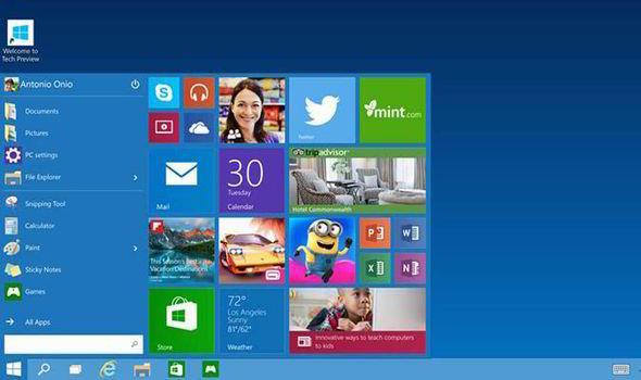 Microsoft-Windows-10-Start-menu-517247