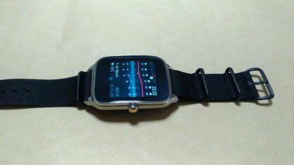 Zenwatch2 Zuludiver NATO ベルト 22mm
