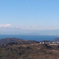 大楠山 衣笠城址 衣笠公園 登山 トレッキング 三浦半島 山頂 展望台 景色 相模湾 富士山 江ノ島
