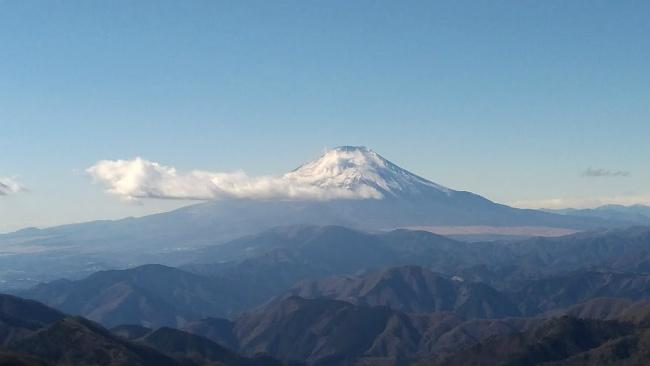 丹沢 塔ノ岳 登山 初心者 登山日記 山頂 富士山