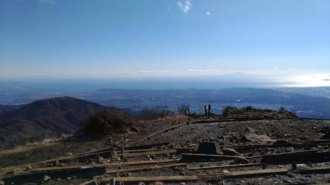 丹沢 塔ノ岳 登山 初心者 登山日記 相模湾 頂上