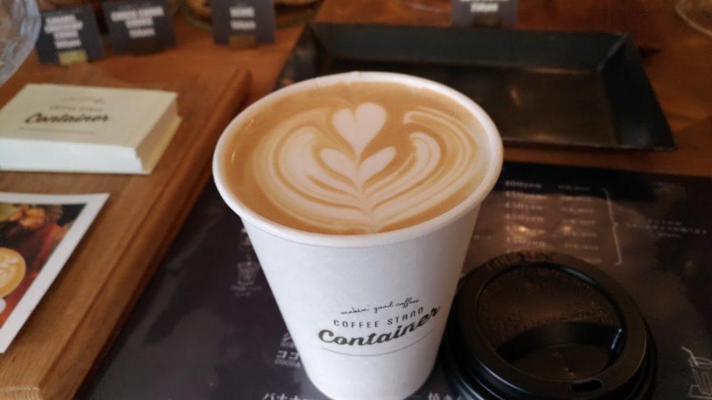 旭川 コーヒースタンド コンテナ coffee stand container asahikawa