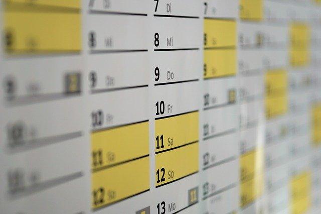 カレンダー calender