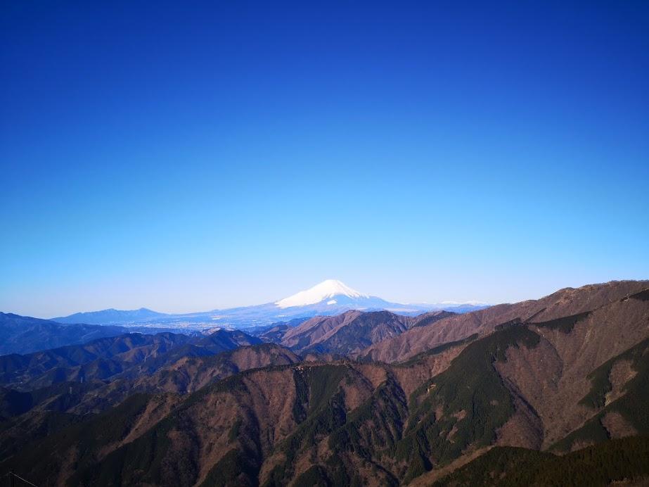 三ノ塔 塔ノ岳 表尾根 縦走 大倉 丹沢 山頂 富士山