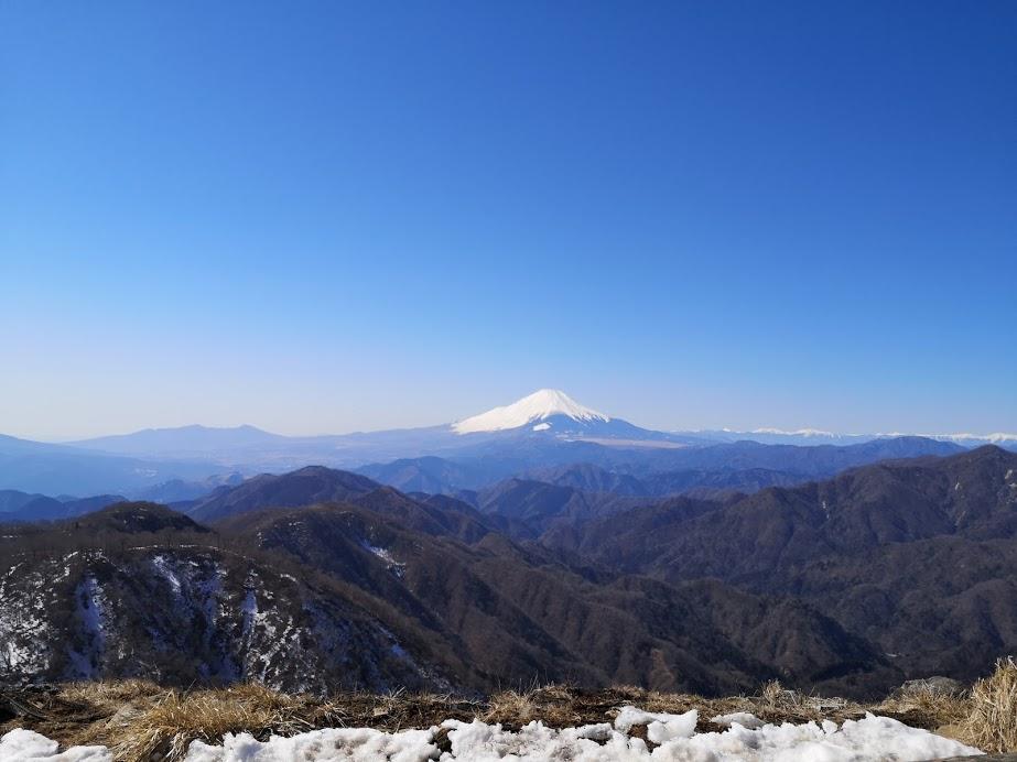 三ノ塔 塔ノ岳 表尾根 縦走 大倉 丹沢 富士山