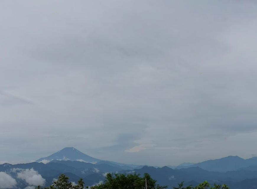 陣馬山 高尾山 奥高尾縦走 山頂 富士山